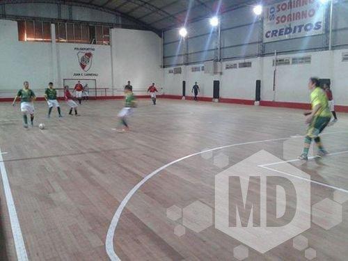 El futsal comenzará su actividad el próximo domingo.