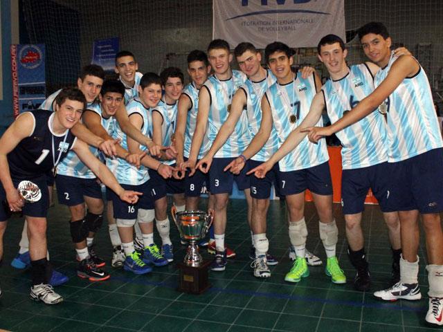La Selección Argentina Pre-Menor con Luis Brunaccio.