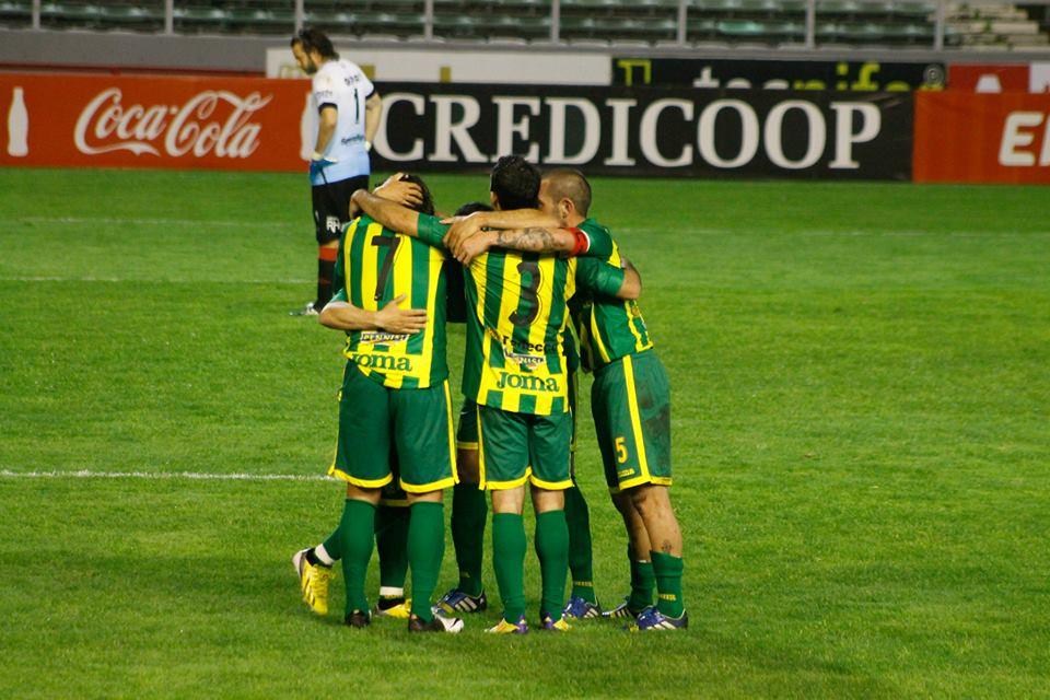 Aldosivi irá por tres puntos fundamentales en el Minella. (Foto: Sergio Biale)