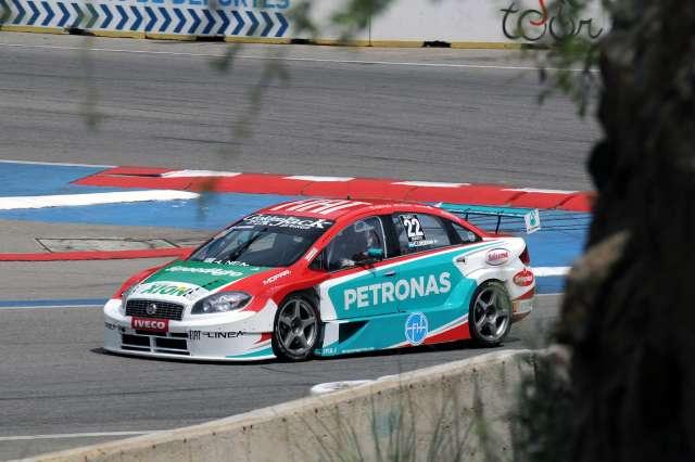 Christian Ledesma girando en Potrero de los Funes (Foto: Prensa Súper TC 2000)