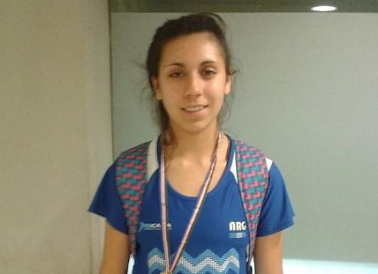 Micaela Levaggi fue una de las que consiguió medallas para Mar del Plata.