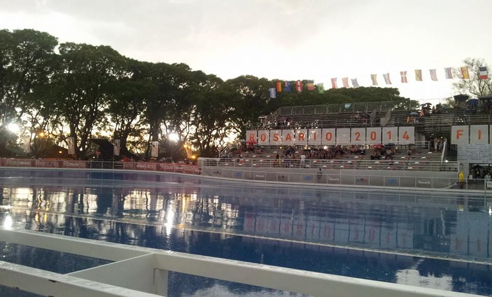 Así lucía el Patinódromo al momento de iniciar las semifinales y finales. (Foto: Facebook)