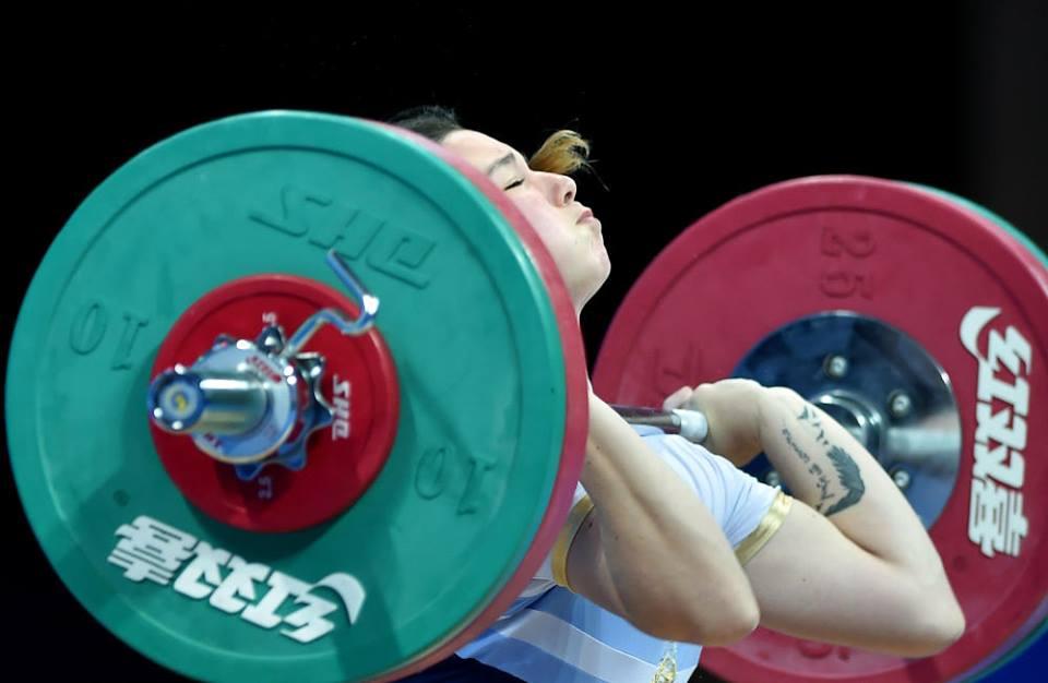 Por segundo año consecutivo, Sasha Nievas fue ternada para los premios Olimpia.