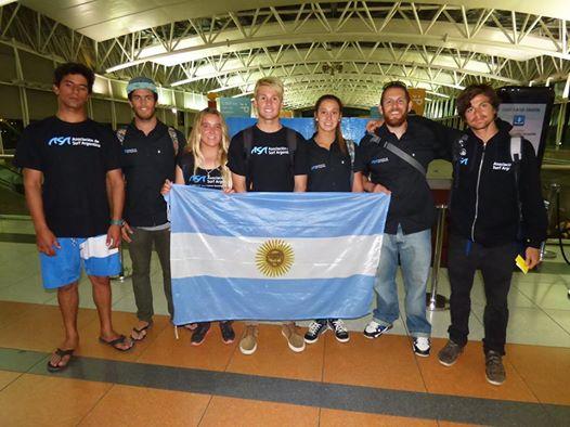 El equipo completo partió hacia China para ser protagonistas en un nuevo torneo ISA.
