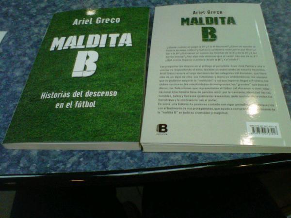 """El libro """"Maldita B"""" será presentado el próximo martes."""