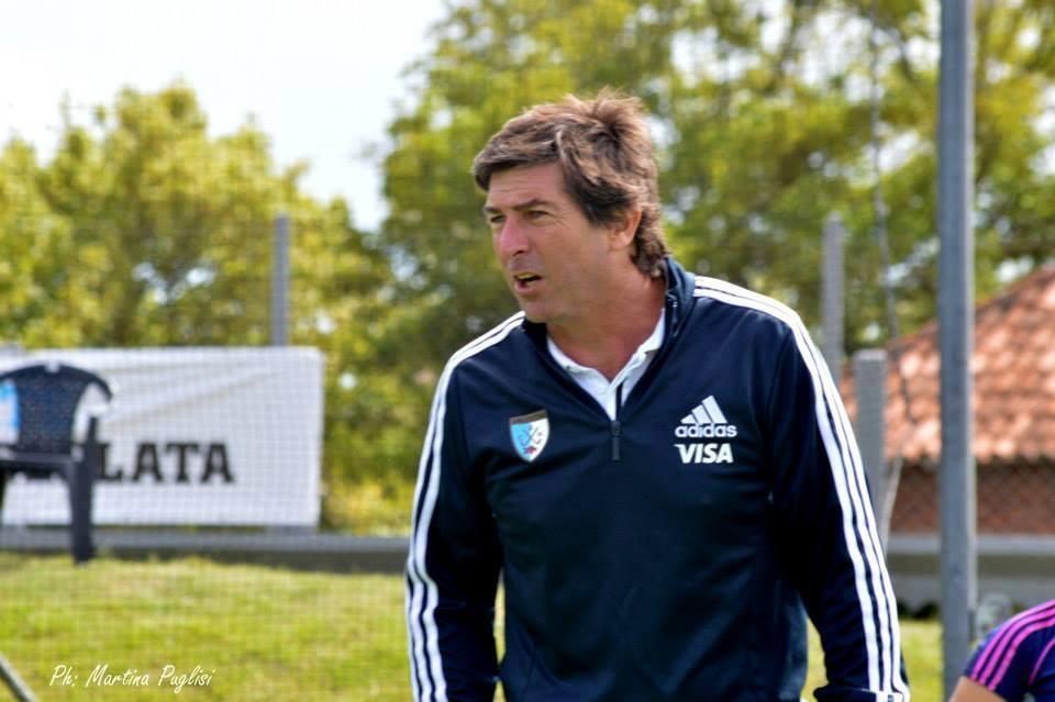 Carlos Muñoz integró el cuerpo técnico de Las Leonas en el Champions Trophy (Foto: Martina Puglisi)