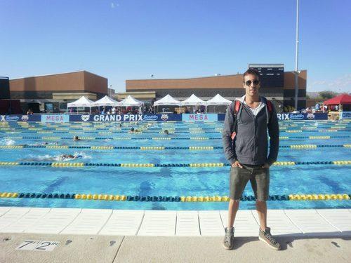 Facundo Miguelena, el mejor nadador de 2014 para el país.