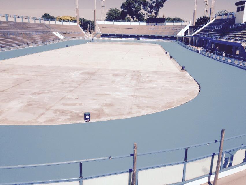 La vista desde la curva de la nueva pista. (Foto: Gabriel de la Riva)