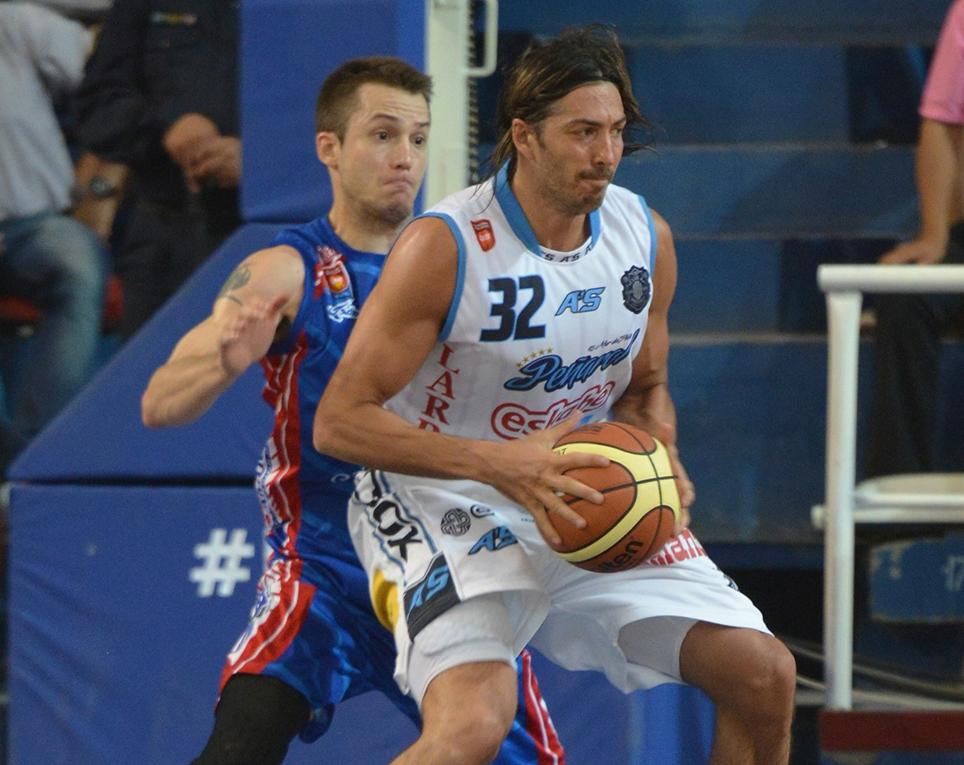 Adrián Boccia no pudo ser parejo en todo el partido como lo hace habitualmente. (Foto: LNB.com.ar)
