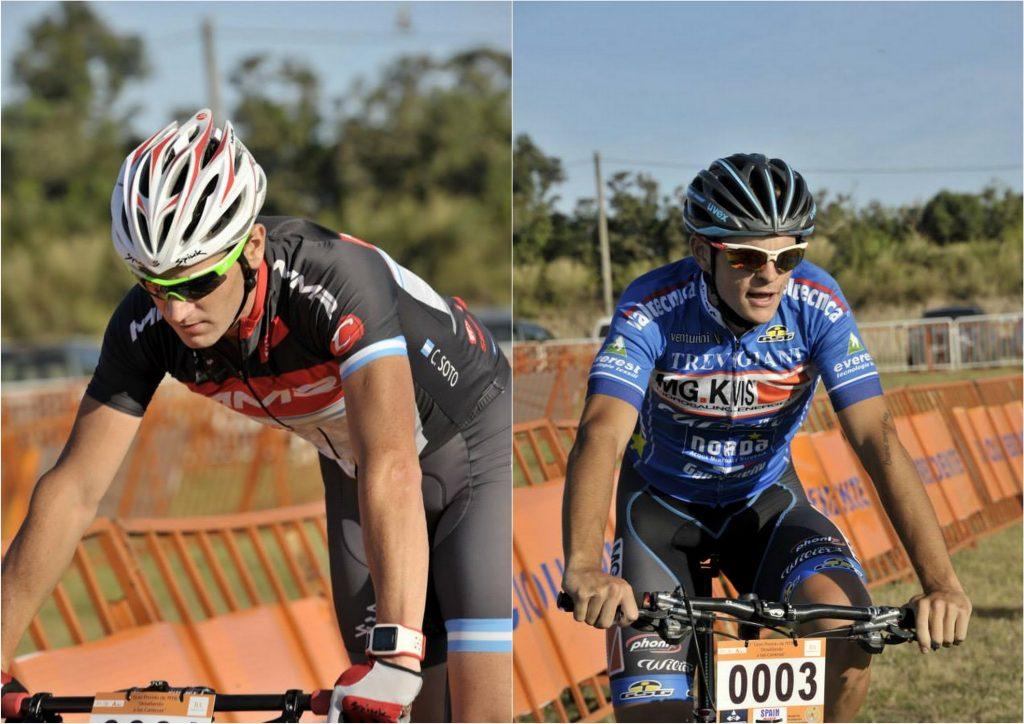 Soto - Curuchet ganadores del XCE y XCO.