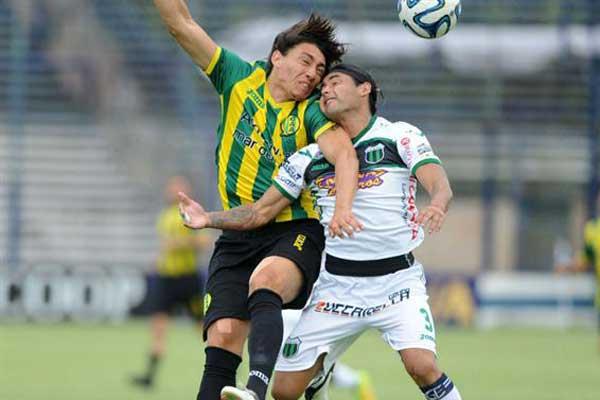 Pablo Lugüercio tiene un principio de fisura en la costilla y se perderá el partido del lunes.