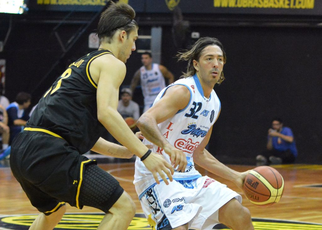 Adrián Boccia, a pesar de su lesión, fue uno de los mejores jugadores en la gira de visitante. (Foto: Prensa LNB)