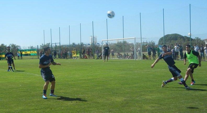 Aldosivi y Unión de Santa Fe se midieron en el partido con más goles de la pre-temporada. (Foto: Palmiro Pieroni)