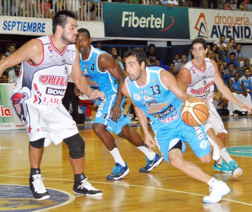Quilmes logró un valioso triunfo en Corrientes. (Foto: Prensa LNB)