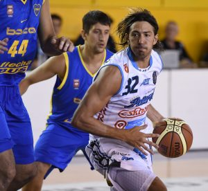 Adrián Boccia fue el goleador de Peñarol. (Foto: Prensa LNB)