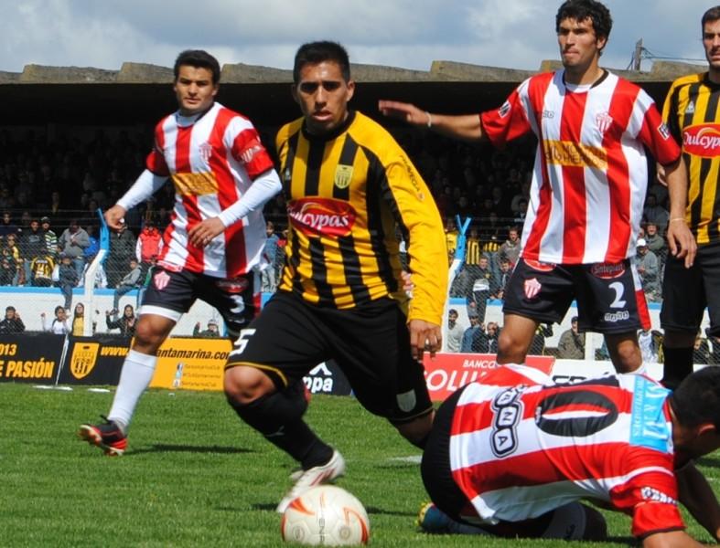 Emmanuel Giménez en su paso por Santamarina de Tandil.