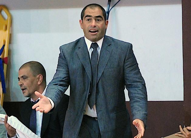 Fernando Rivero esta contento con el funcionamiento del equipo. (Foto: Ligateunafoto.com)