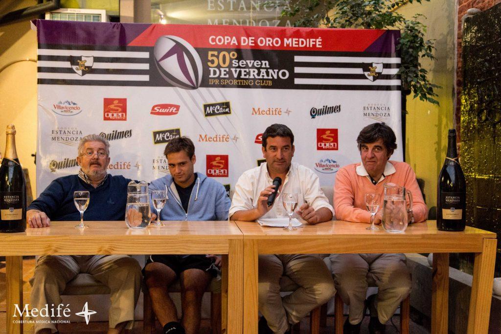 La mesa de presentación del Seven de Verano de Sporting. (Foto: Prensa Seven de Verano)