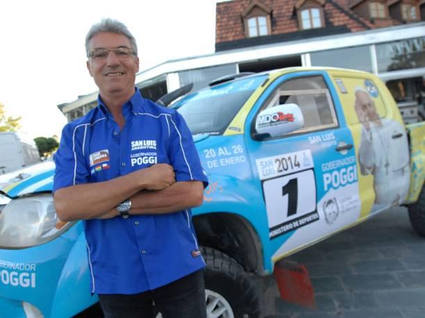Omar Gándara pudo completar la segunda etapa del Dakar 2015.