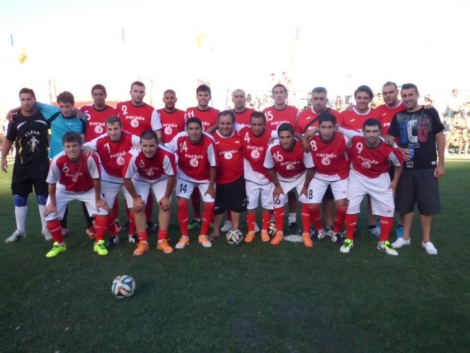 La Selección que está jugando la Copa Argentina representando a Mar del Plata.