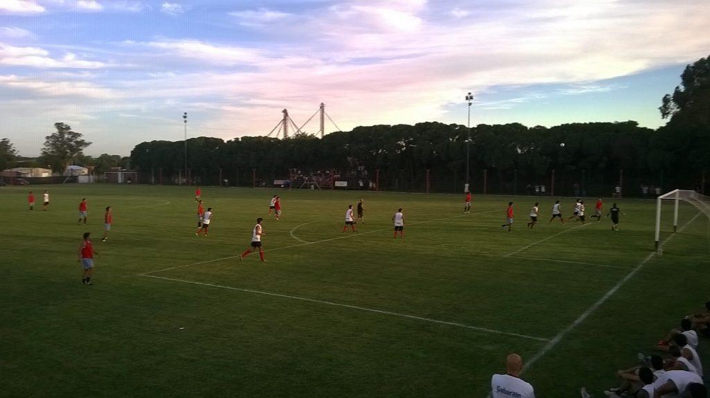 Imagen del partido entre Unión y Círculo Deportivo.
