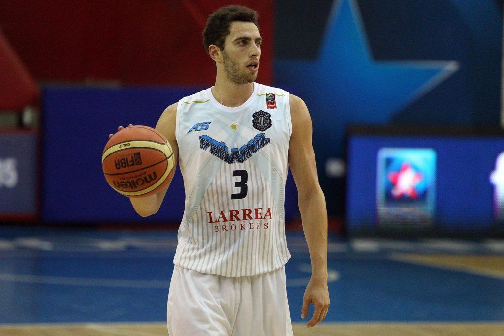 Alejandro Konsztadt, por ahora es el único base que tiene Peñarol. (Foto: FIBA)