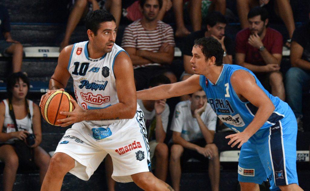 Leonardo Gutiérrez marcado por Diego Gerbaudo. (Foto: LNB)
