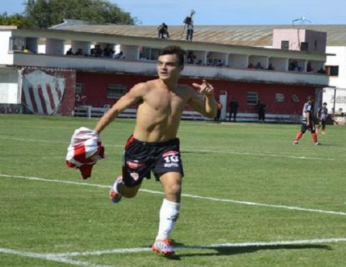 Brian Visser es el nuevo delantero de Unión de Mar del Plata.