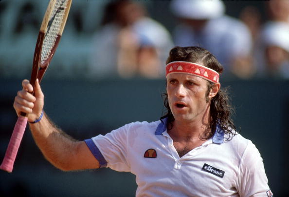 Argentina Guillermo Vilas, 1982 French Open
