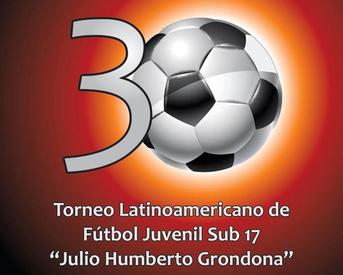 El logo oficial del Latinoamericano Juvenil.