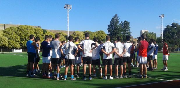 Los Leones comenzaron hoy los entrenamientos y llegarán a Mar del Plata. (Foto: CAH)