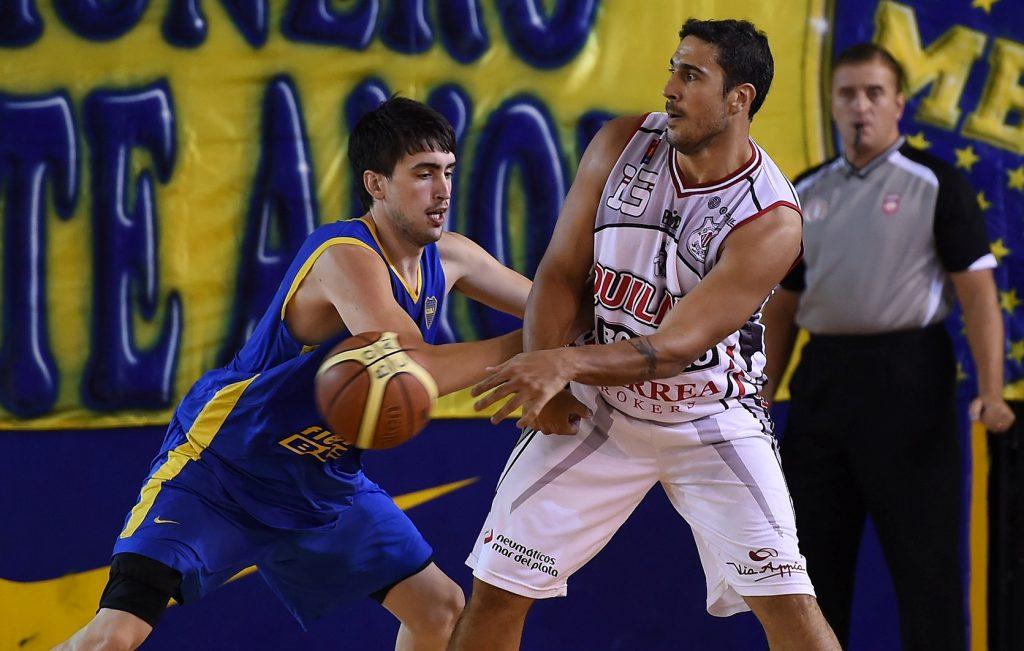 Maximiliano Maciel fue uno de los jugadores fundamentales para el triunfo de Quilmes anoche. (Foto: LNB)