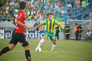 Martín Rivero tuvo sus primeros minutos de juego. (Foto: Sergio Biale)