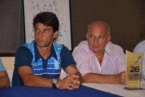 Gustavo Noto y Francisco Pagano en la presentación de ayer. (Foto: Pedro Celano)