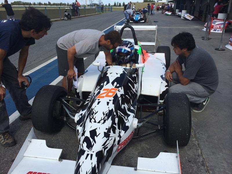 Marcos Siebert sobre el auto en La Plata.