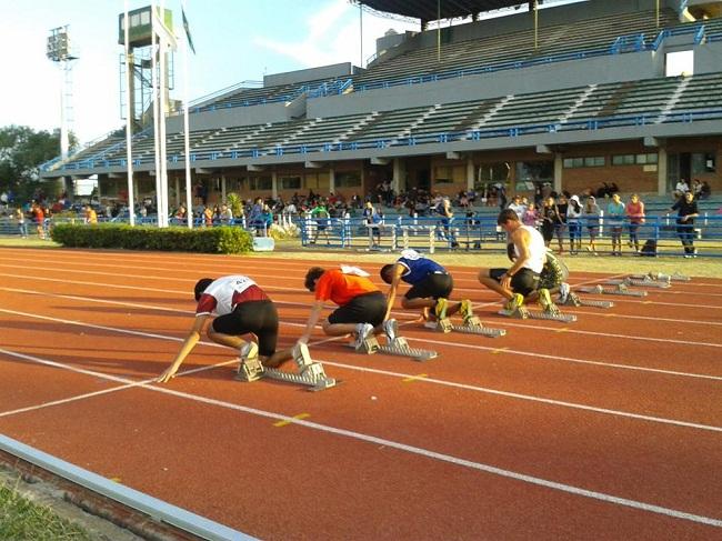 La largada del Torneo Apertura de Atletismo.