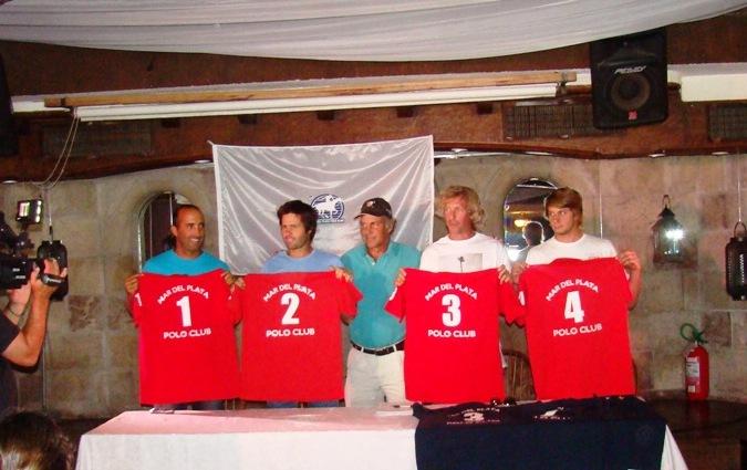 El Mar del Plata Polo Team que formará parte del evento el fin de semana.