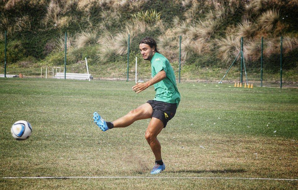 Alejandro Capurro no se recuperó y será baja para el domingo. (Foto: Sergio Biale)