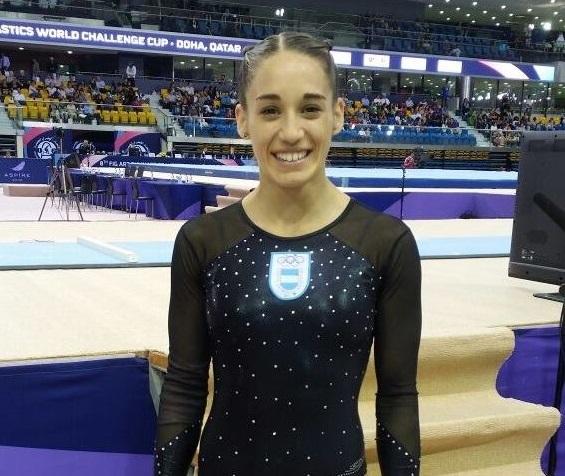 Ayelén Tarabini, la mejor representante argentina.