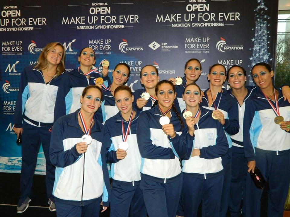 El equipo argentino que consiguió el bronce en París.
