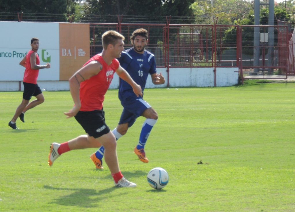 Alvarado sacó un buen resultado ante Los Andes.