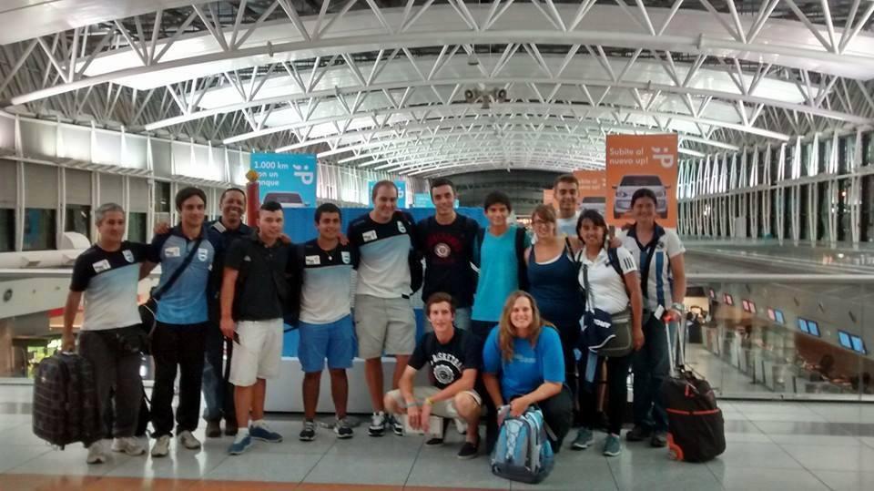 Con Cerezo y Jajarabilla, el equipo argentino partió a Repúlica Dominicana.