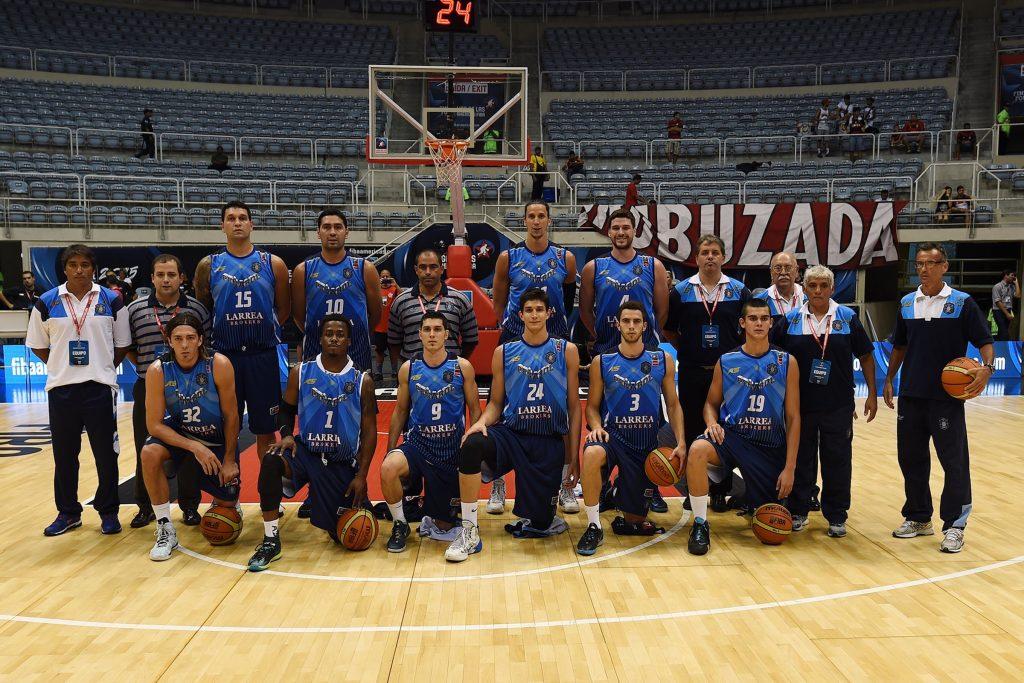 La formación de Peñarol. (Foto. FIBA)