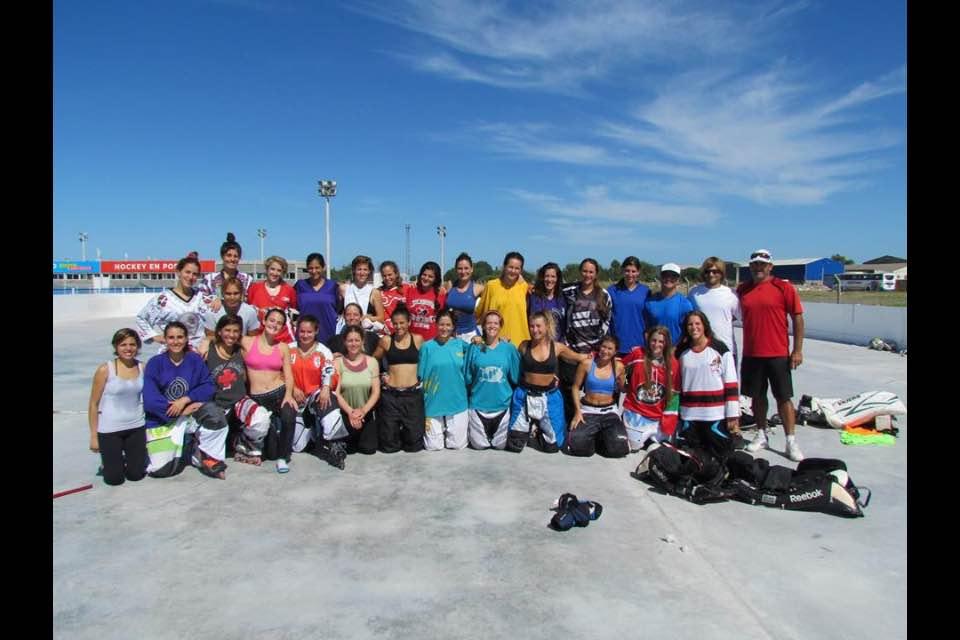 La Selección Femenina Mayor que entrenó en Mar del Plata.