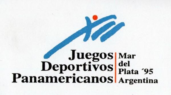 El logo de los Juegos Panamericanos del 95.
