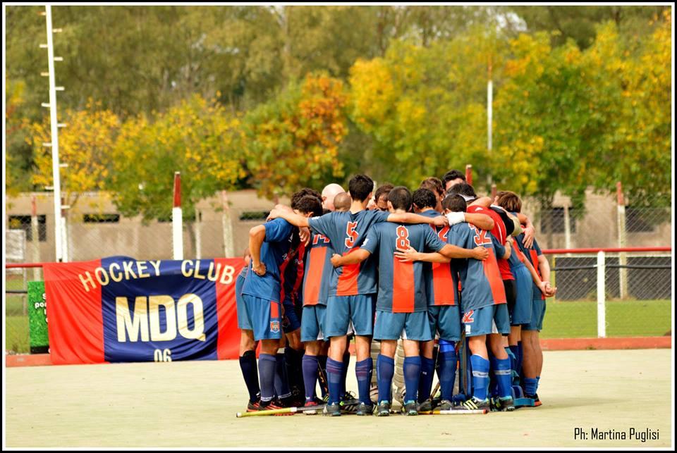 MDQ 06 Hockey Club no pudo quedarse con los tres puntos. (Foto: Martina Puglisi)