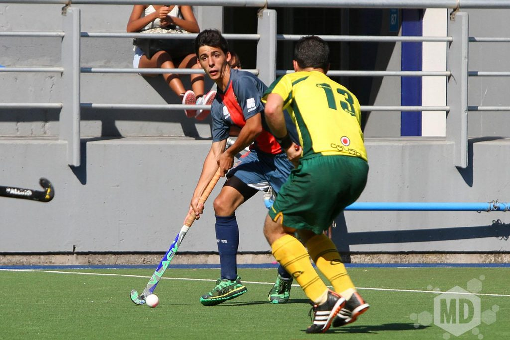 Lautaro Rodríguez hizo la jugada que terminó en el gol de Diego Grill. (Foto: Carlos De Vita)