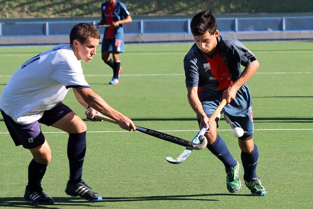 Lautaro Rodríguez, uno de los jóvenes valores de MDQ 06 Hockey Club (Foto: Archivo Carlos De Vita)