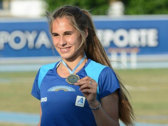 Noelina Madarieta, una vez más destacada.