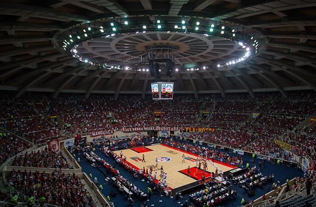 El Maracanãzinho, escenario del Final Four de la Liga de las Américas.
